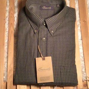 NWT, Portuguese Flannel Button Down